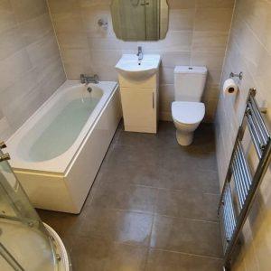 Mr Brough Bathroom Installation, Giltbrooke