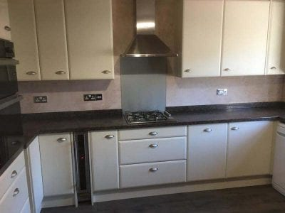 Mr and Mrs Bruetons' Kitchen Installation, Ilkeston