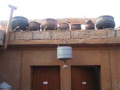 Cooking Pot Alfresco Shower