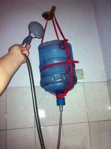 Cooler Bottle Shower