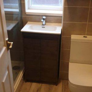 Mr and Mrs Crofts Bathroom Installation