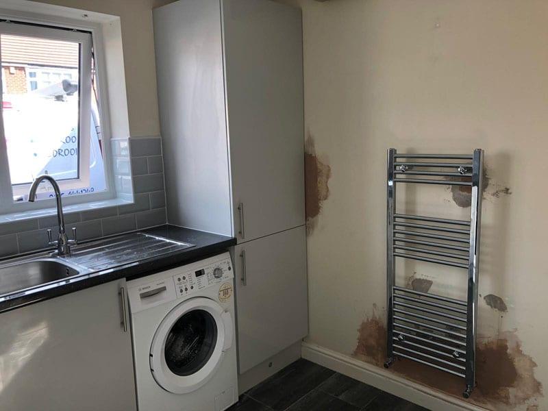 Mr and Mrs Davis kitchen installation, Ilkeston