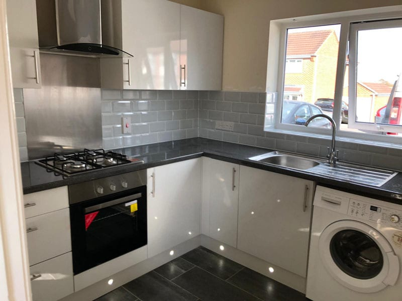 Mr and Mrs Davis kitchen installation, Ilkeston
