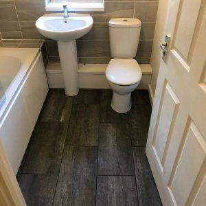 H Dawson's Bathroom, Ashbourne