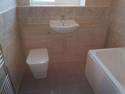 Mr and Mrs Dixons Bathroom Installation Mansfield