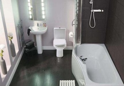 Fully Fitted Bathroom For £2495