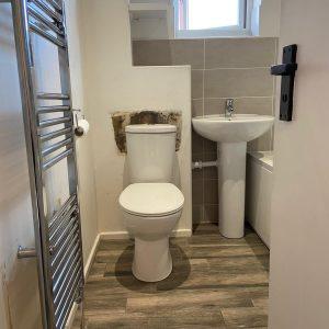 Ms Gray Bathroom Installation, Derby