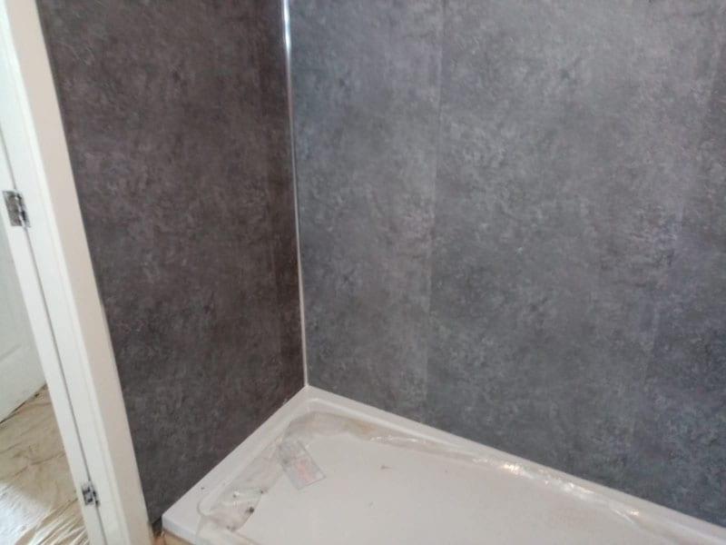 Mr Hamilton bathroom installation, Ilkeston