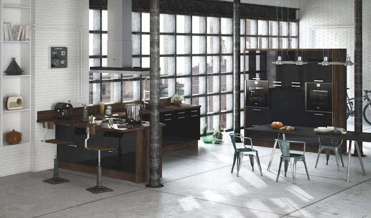 Kitchen styles hot metals types and styles for your kitchen for Types of kitchen styles
