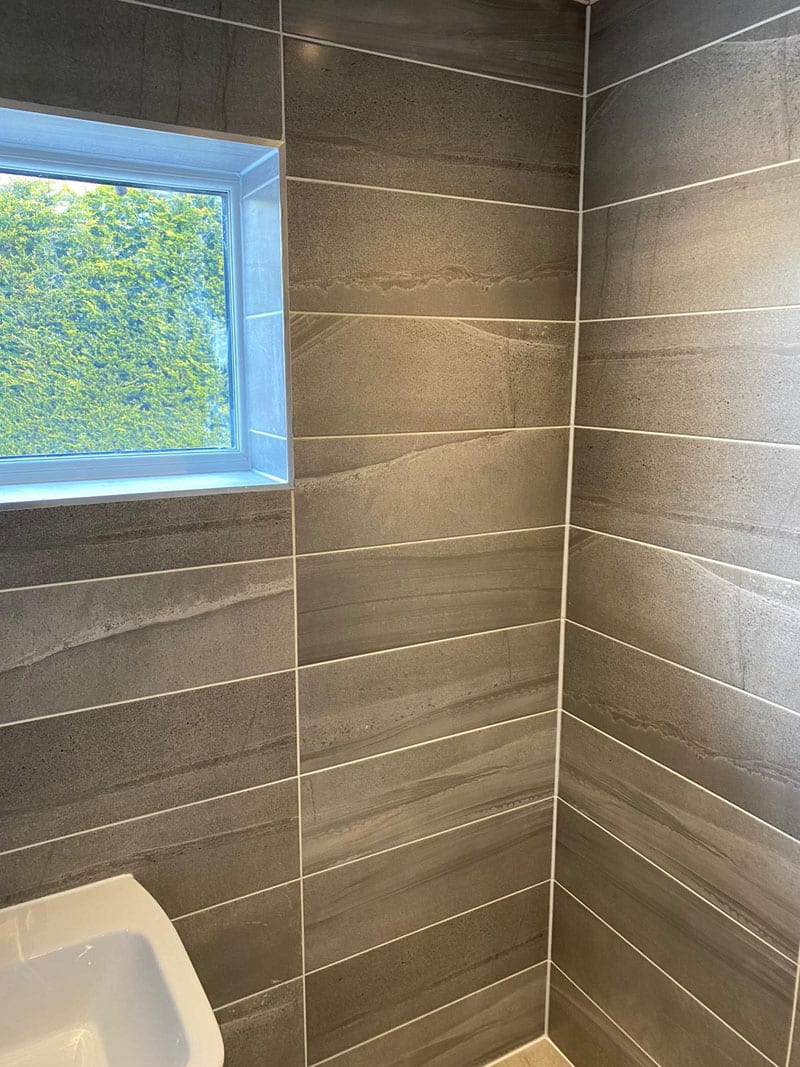 Mr Knighton's bathroom installation, Heanor
