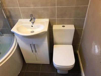 Mrs Friers Bathroom Installation
