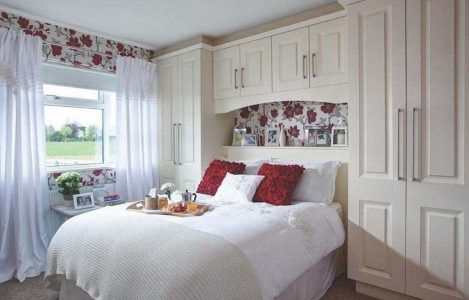 Six Ways to Make Space in Your Bedroom