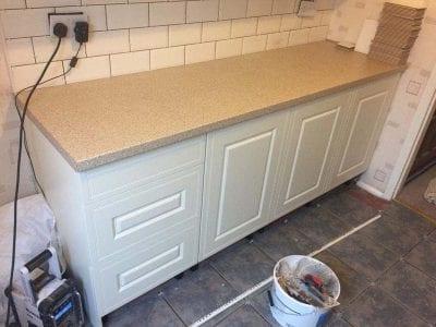 Mr and Mrs Thompsons Kitchen Installation, Littleover