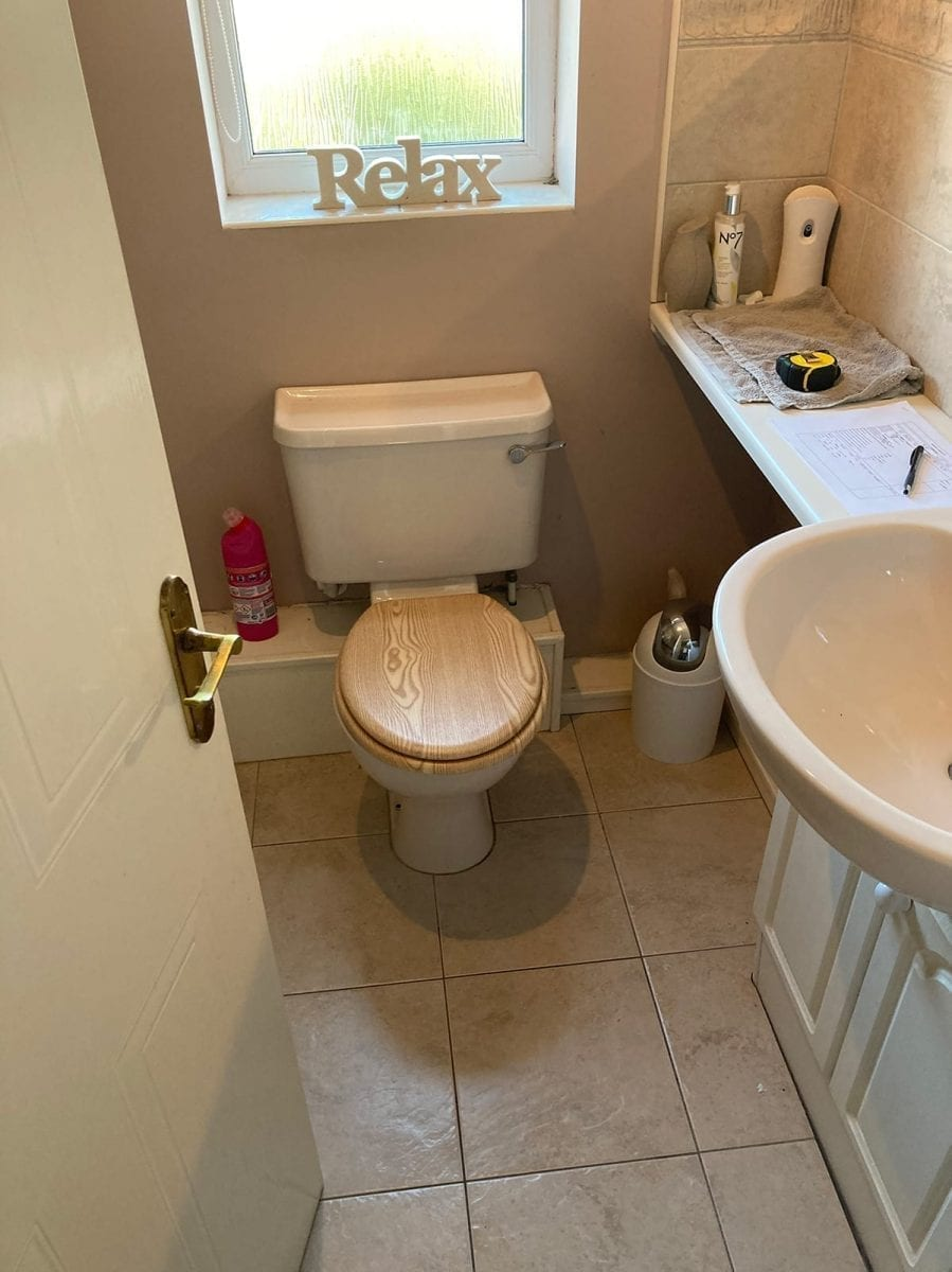 Mr and Mrs Millers Bathroom Installation