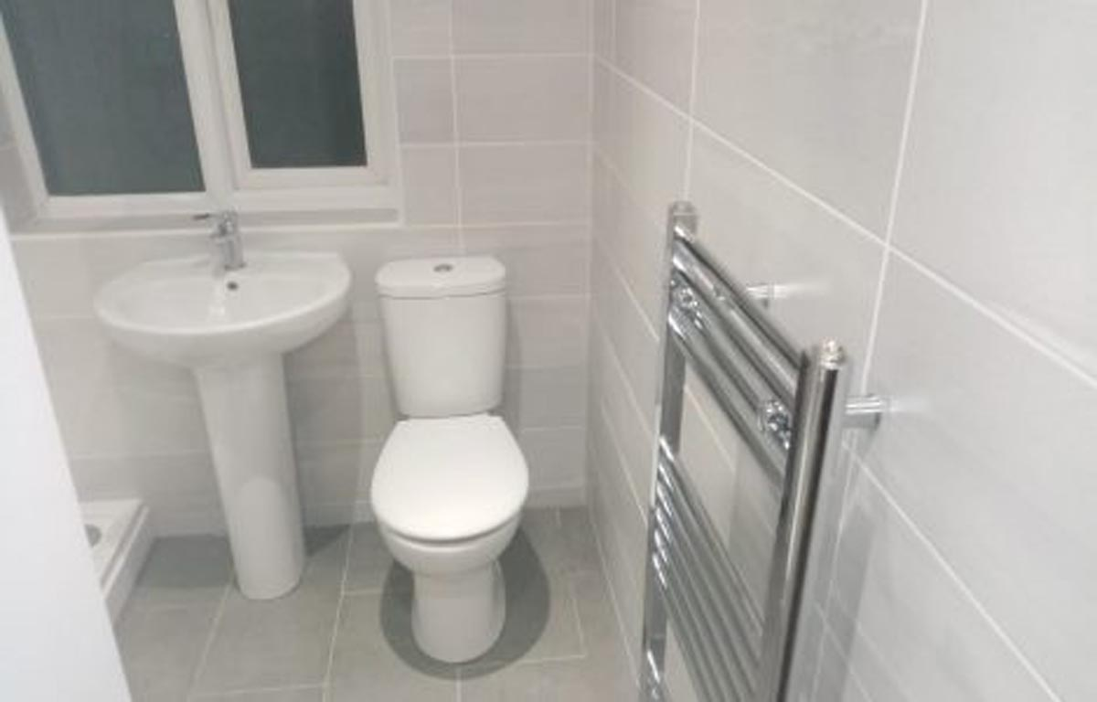 Mr Nicoll's Bathroom Installation
