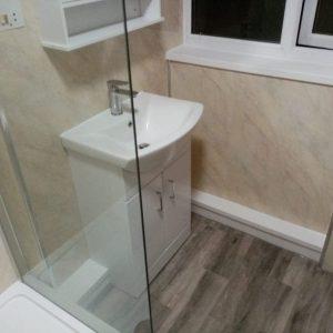Mr and Mrs Norman's Bathroom Wigston