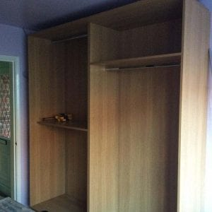 Mr and Mrs Holmes Bedroom Installation