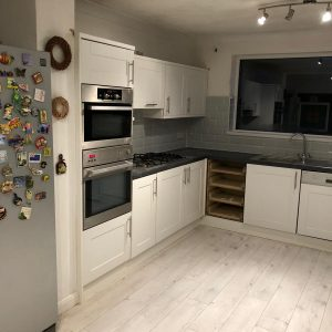 Mr and Mrs Prince Kitchen Makeover, Edwinstowe