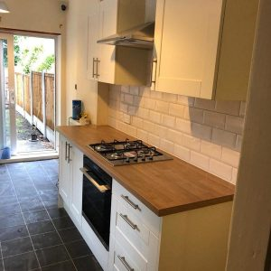 William Rae Kitchen Installation, Long Eaton