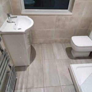 Mr and Mrs Scotts Bathroom, West Hallam