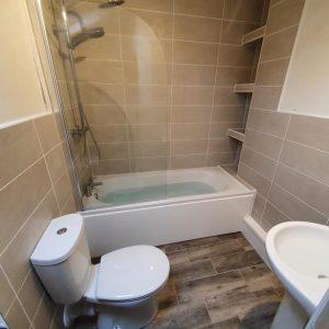 Mr and Mrs Stewarts Bathroom, Derby