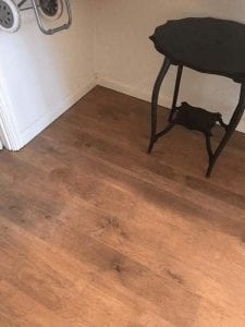 Mrs Terry's Kitchen Installation With Laminate Flooring