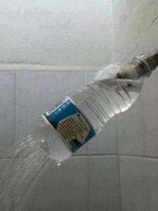Water Bottle Shower Nozzle