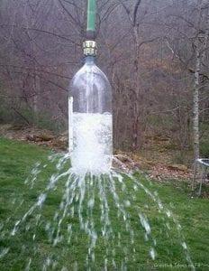 Waterbottle Alfresco Shower