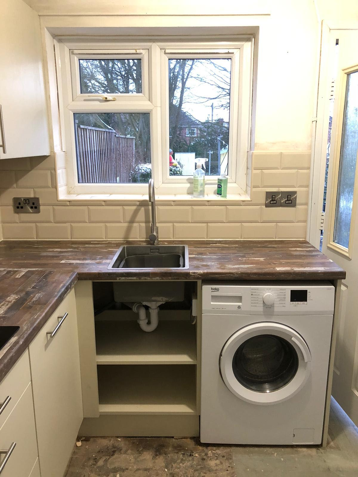 Mrs Websters Kitchen Installation, Mansfield
