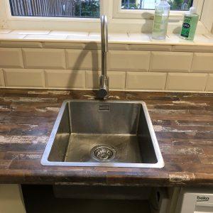 Mrs Websters Kitchen Installation, Mansfield
