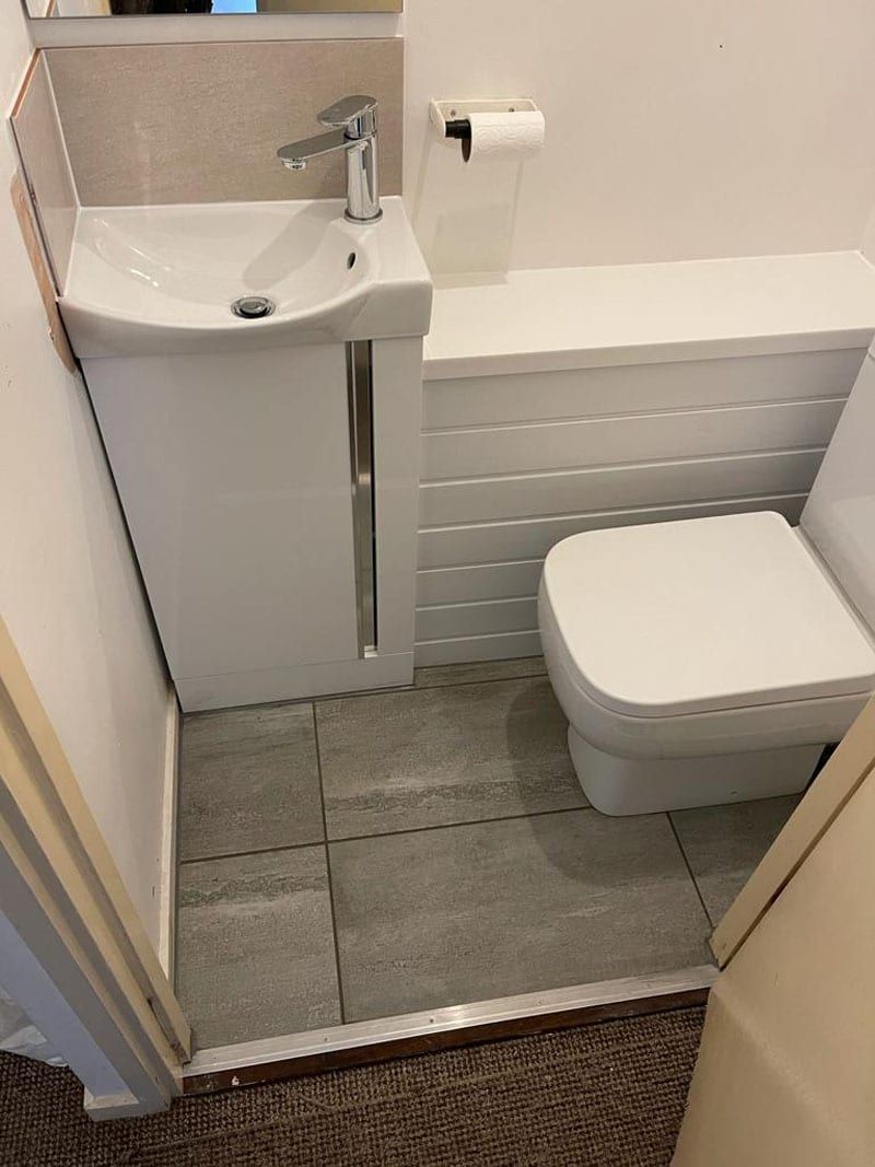 Weigand-Forson Bathroom Installation