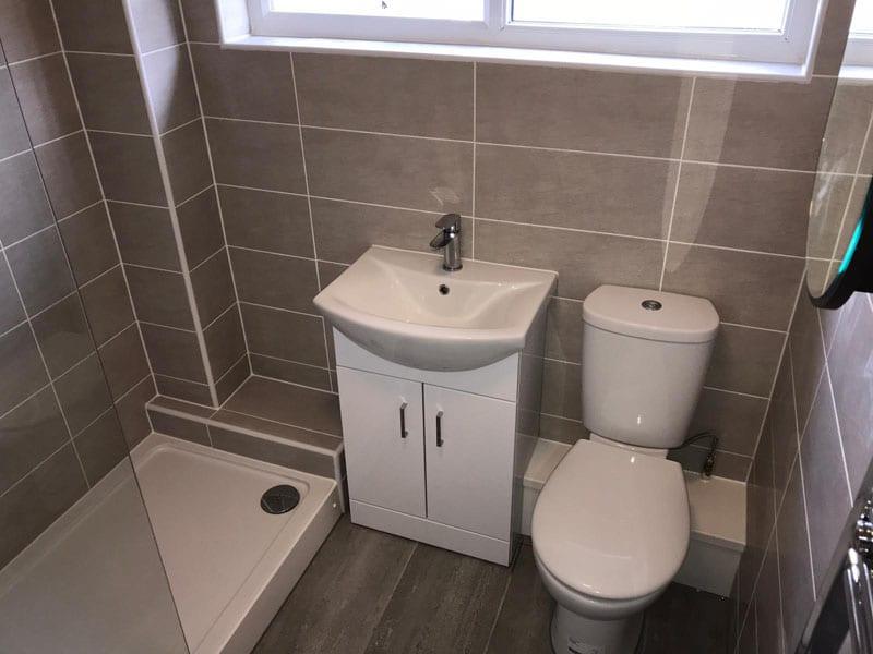 Weigand-Forson Bathroom Installation