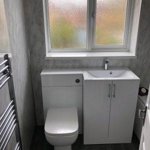 Mr and Mrs Windmills Bathroom, Long Eaton